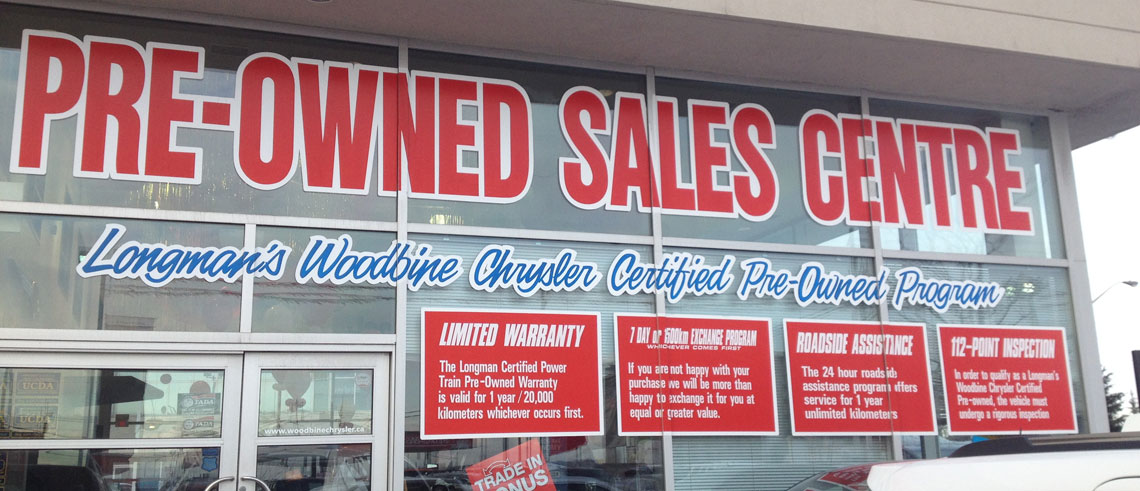 Woodbine -Chrysler -Pre Owned -Centre